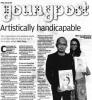 【南華早報 ─ Young Post】Artistically Handicapable (只提供英文版本)