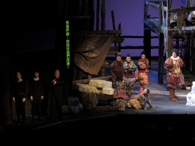 劇場視形傳譯在舞台傳譯