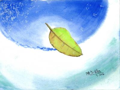 陳冬梅作品《飃浮》圖像