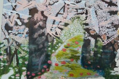 李小燕作品《櫻花》圖像