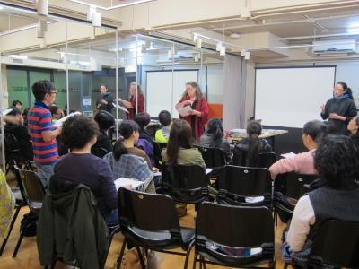 海外導師培訓課程照片