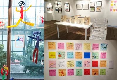 「多一點藝術節2015」重點展覽-展區四:藝術筆友相片