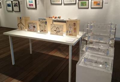 「多一點藝術節2015」重點展覽-藝術筆友:仁德天主教小學作品相片
