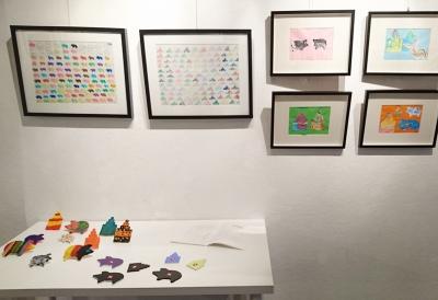 「多一點藝術節2015」重點展覽-藝術筆友:德國豬與三角形屋頂作品相片