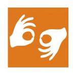手語傳譯標誌