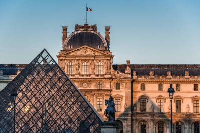 《羅浮宮的創想-從皇宮到博物館的八百年》通達導賞 宣傳圖像