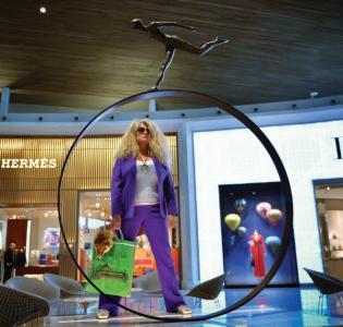 「意識-的巨型雕塑」 通達導賞宣傳圖像