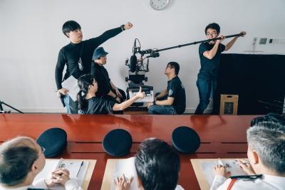 電影電視學院畢業作品放映宣傳圖像